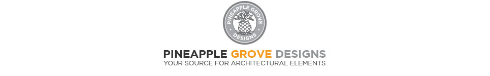 Pineapple Grove Designs Architectural Cast Stone Ornamentation and Elements